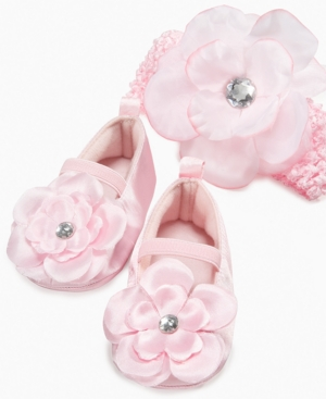 ABG Accessories Rising Star Baby Accessories, Baby Girls Floral Headband