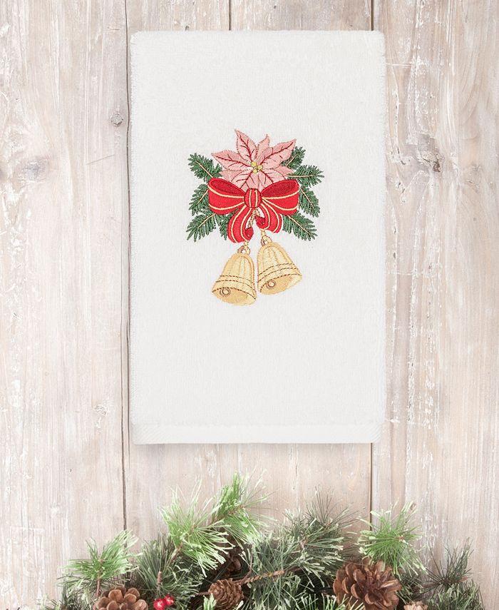 Linum Home - Christmas Bells 100% Turkish Cotton Hand Towel