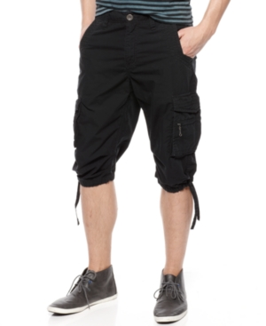 American Rag Short, Solid Messenger Shorts