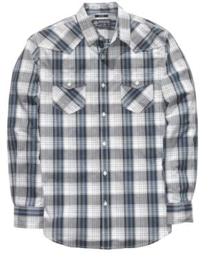 American Rag Shirt, Hombre Plaid Woven Shirt