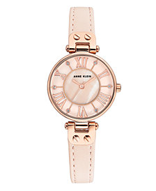 Anne Klein Genuine Mother of Pearl Dial with Roman Numerals Watch