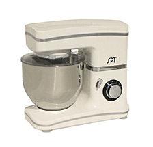 SPT 8-Speed Stand Mixer White