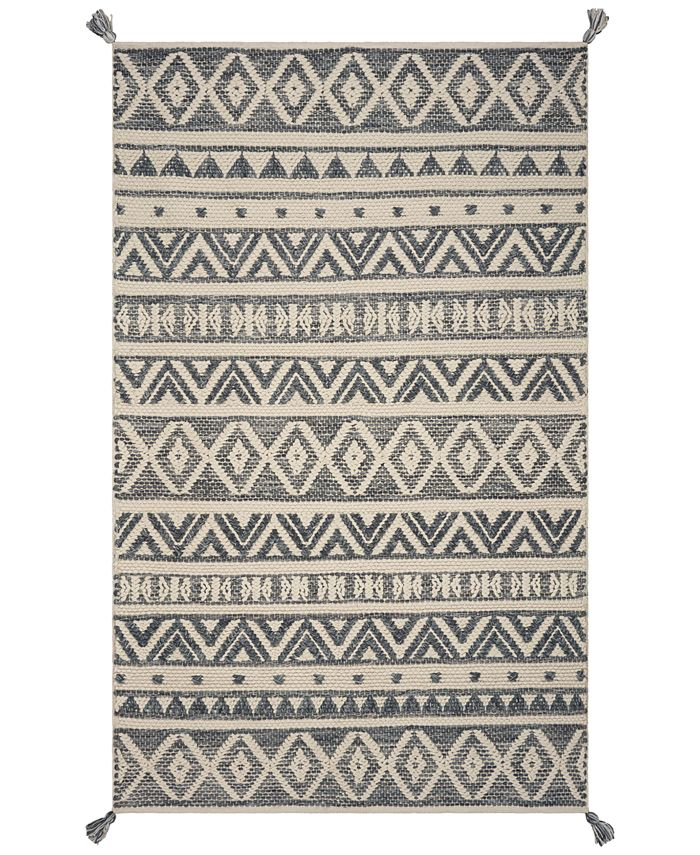Hang Ten - Malibu Encinitas 852 Grey 8' x 11' Area Rug