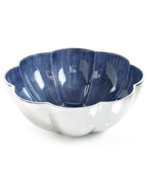 Simply Designz Serveware, Parisian Blue Lotus Bowl