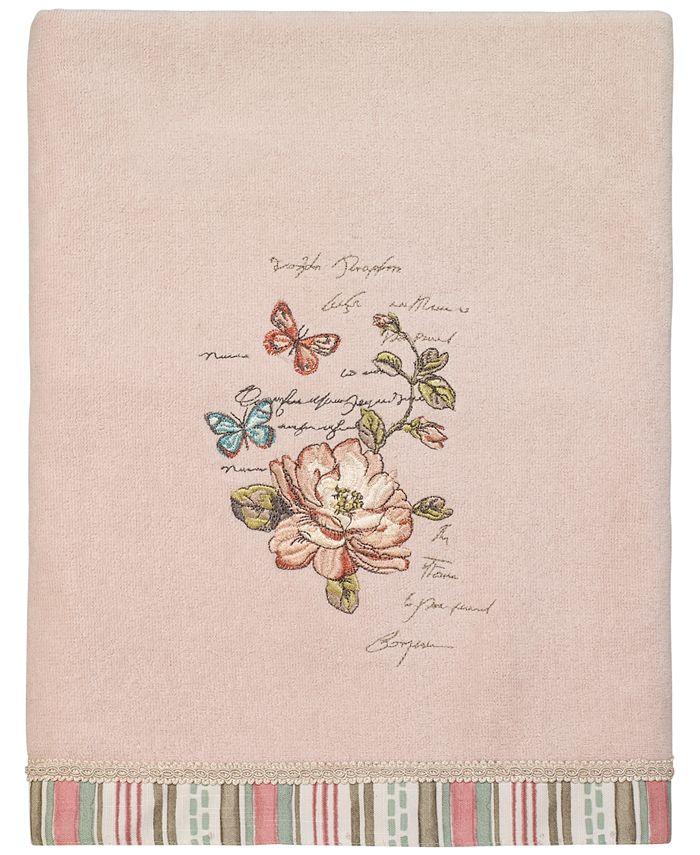 Avanti - Butterfly Garden II Bath Towel