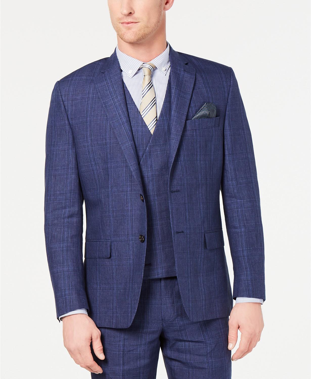 Lauren Ralph Lauren Mens Classic-Fit UltraFlex Stretch Suit Jacket