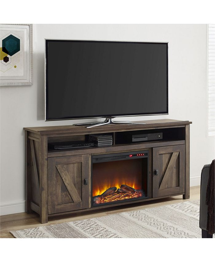 Ameriwood Home - TV Console with Fireplace for TVs up to 60 Inches