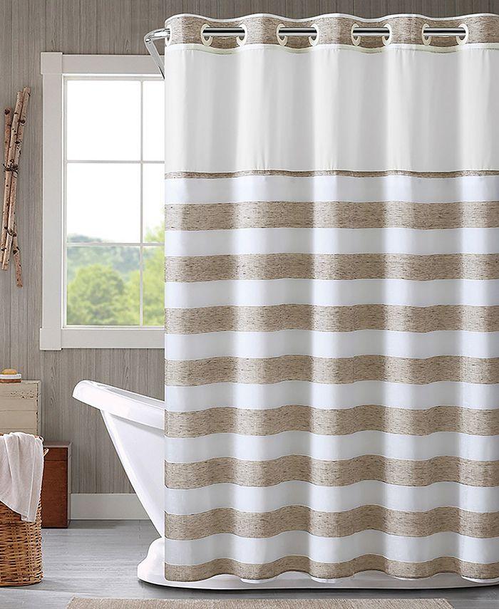 Hookless - Yarndye Stripe 3-in-1 Shower Curtain