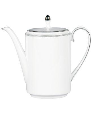 Vera Wang Wedgwood Dinnerware, Grosgrain Teapot