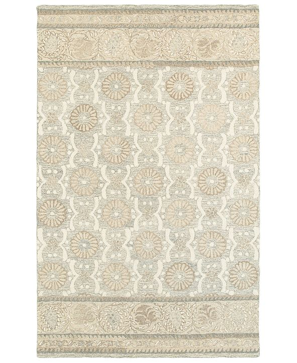 Oriental Weavers Craft 93002 Ash/Sand 10' x 13' Area Rug