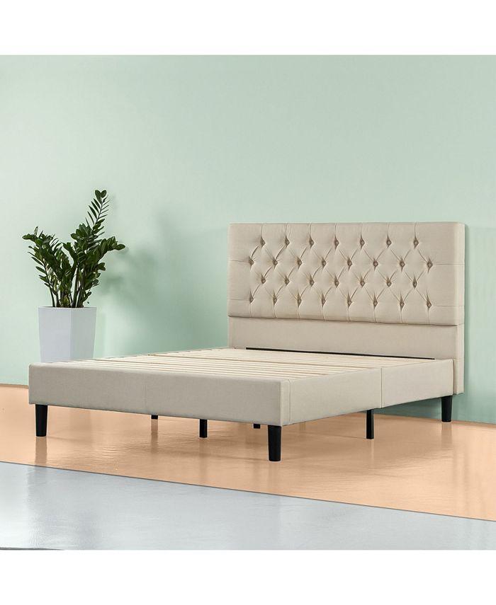 Zinus Misty Platform Bed Frame No Box, Queen Bed No Box Spring