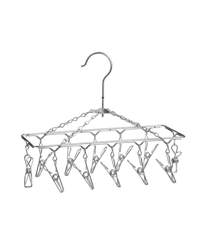 Honey Can Do - 12-Hook Carousel Hanging Drying Rack