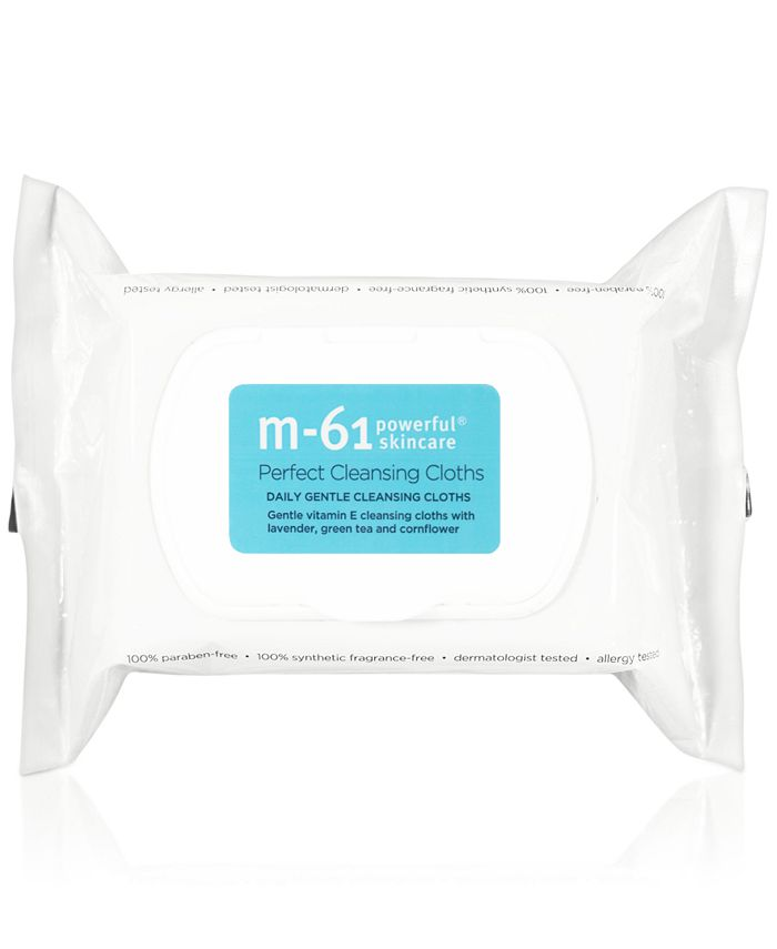 m-61 by Bluemercury - Perfect Cleansing Cloths, 30-Pk.