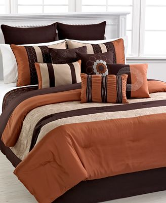 Closeout Elston 12 Piece Comforter Set Bed In A Bag