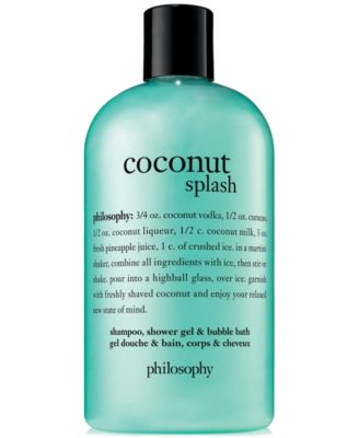 Coconut Splash Shampoo, Shower Gel & Bubble Bath, 16-oz.