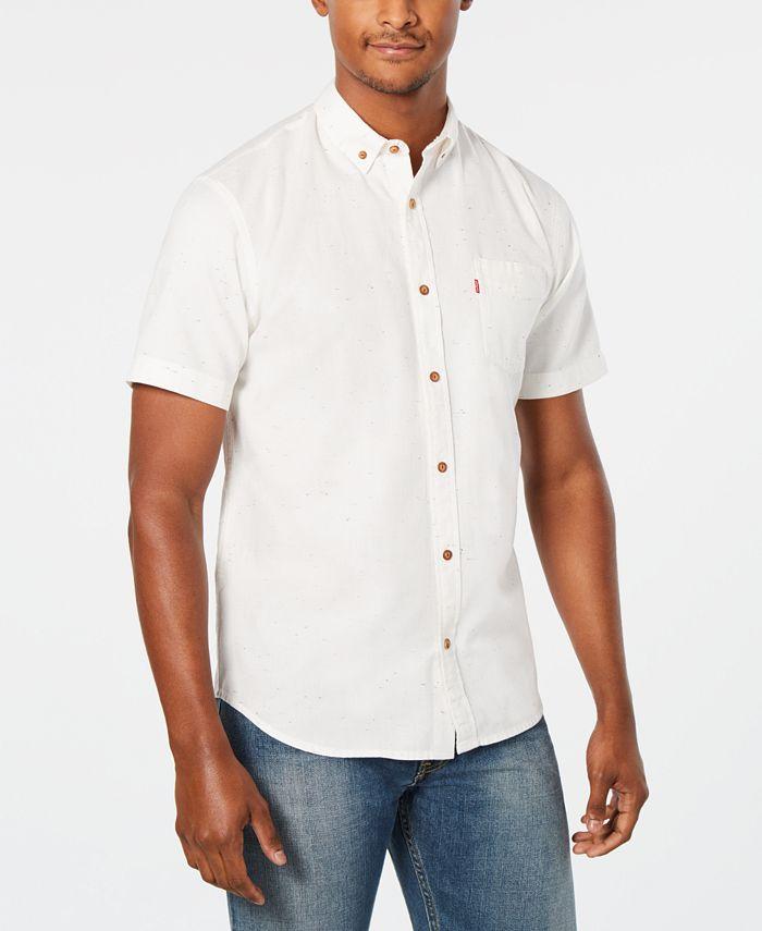 Levi's - Men's Short-Sleeve Pocket Oxford Shirt