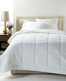 Charter Club Down Alternative Super Luxe 300-Thread Count Queen Comforter, Created for Macy's