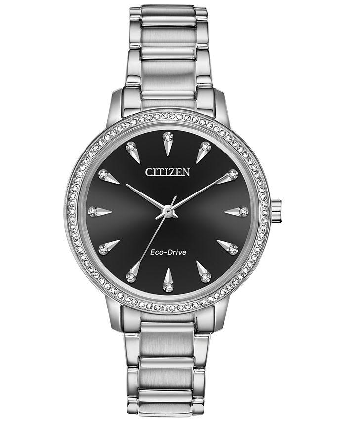 Citizen - Women's Silhouette Stainless Steel Bracelet Watch 36mm