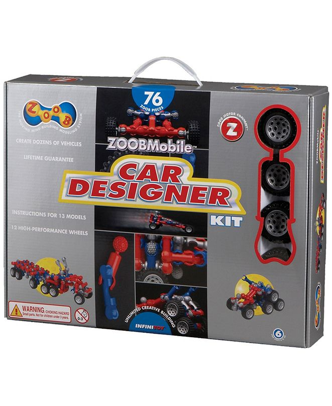 ZOOB Car Designer Kit