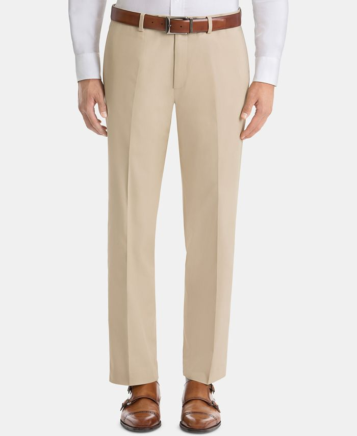 Lauren Ralph Lauren - Men's UltraFlex Classic-Fit Cotton Pants