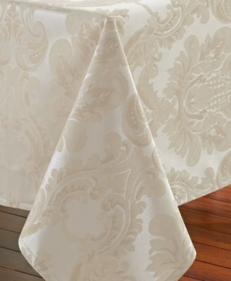 "Waterford Whitmore 70"" x 84"" Tablecloth"