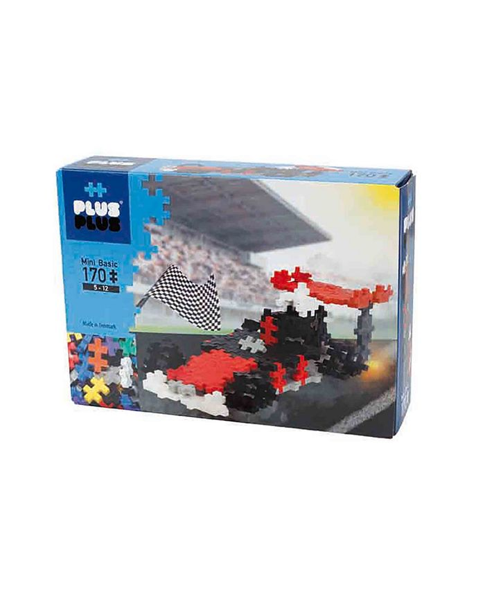 Plus-Plus - - Instructed Set - 170 pc Race Car