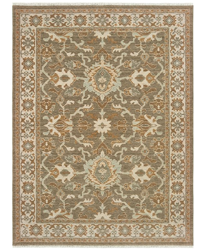 "Oriental Weavers Anatolia 1331H Brown/Ivory 3'10"" x 5'5"" Area Rug"