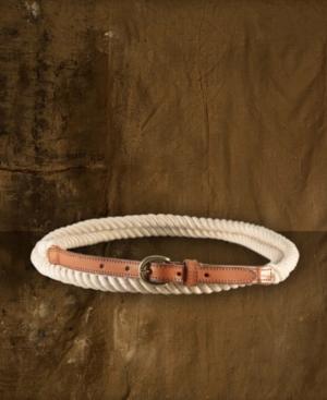 Denim & Supply Ralph Lauren Belt, Leather Rope Wrap