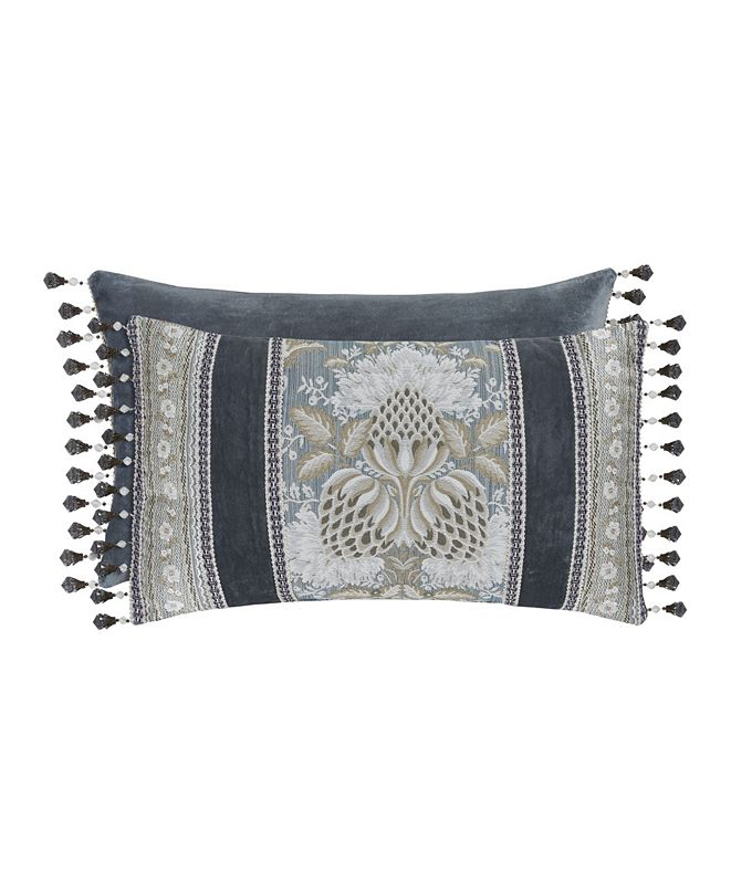 J Queen New York J Queen Crystal Palace Boudoir Decorative Pillow