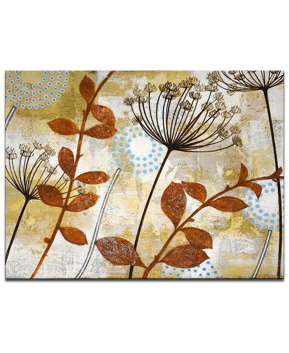 Ready2HangArt 'Meadow Breeze II' Botanical Canvas Wall Art, 20x30""