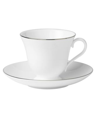 "Wedgwood ""Signet Platinum"" Teacup"