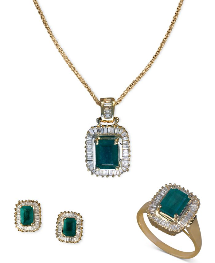 Effy Collection Jewelry Emerald