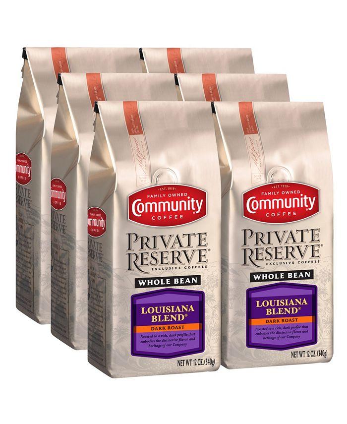 Community Coffee - CS-6: 12 OZ PR WB LA BLND