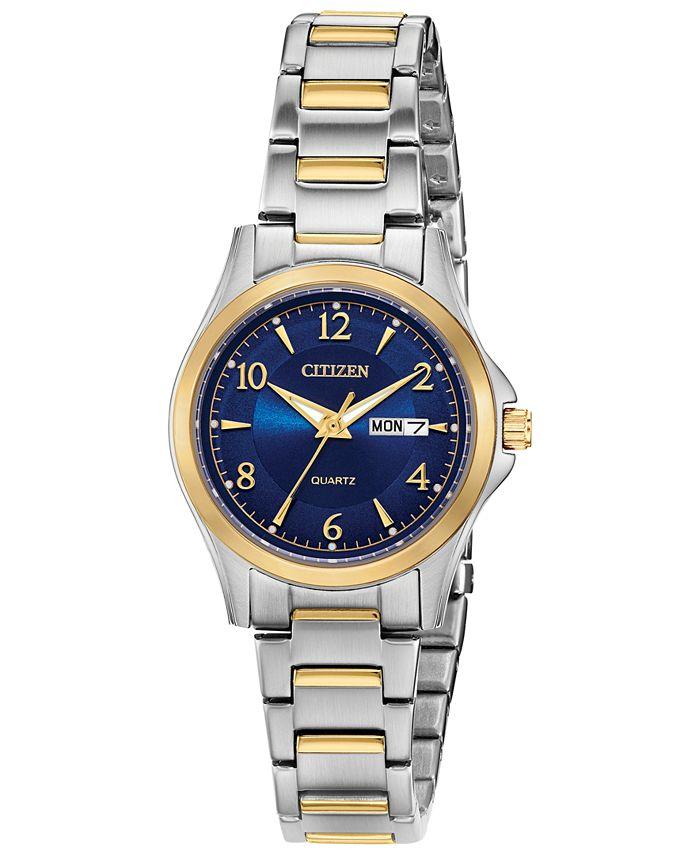 Citizen - Women's Quartz Two-Tone Stainless Steel Bracelet Watch 28mm