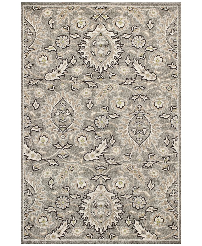 "Kas - Lucia Artisan 2750 Grey 3'3"" x 4'11"" Indoor/Outdoor Area Rug"