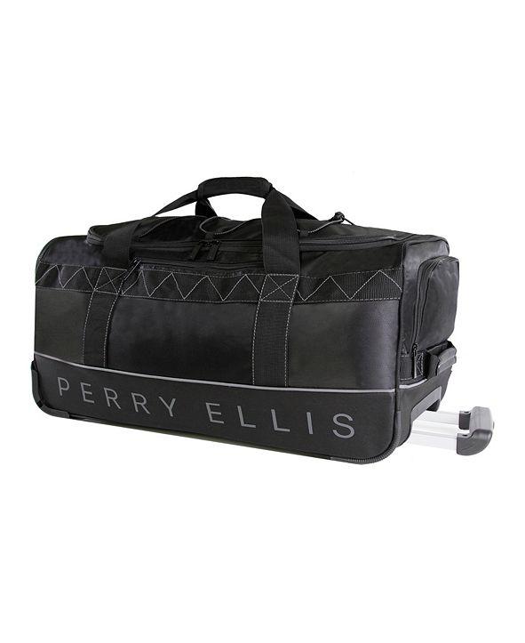 "Perry Ellis 35"" Rolling Duffel"