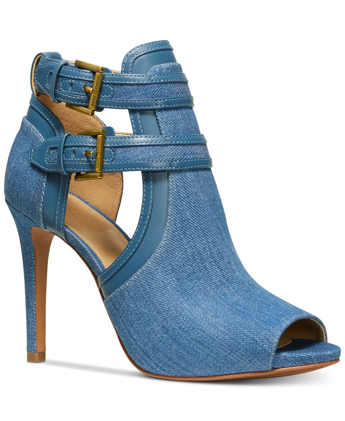 Michael Kors - Blaze Open-Toe Dress Booties