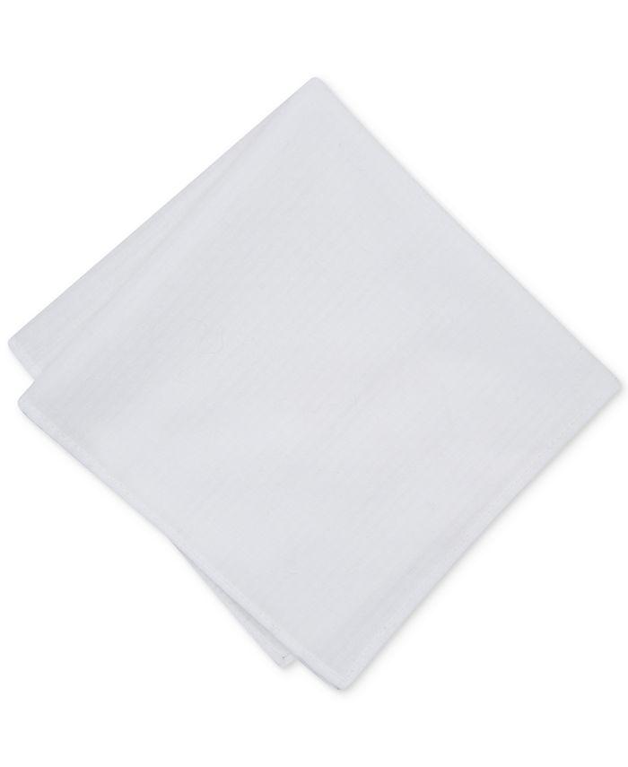 Bar III - Men's Tonal Open Texture Pocket Square