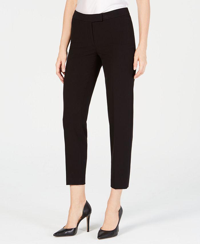 Anne Klein - Bi-Stretch Slim-Leg Pants
