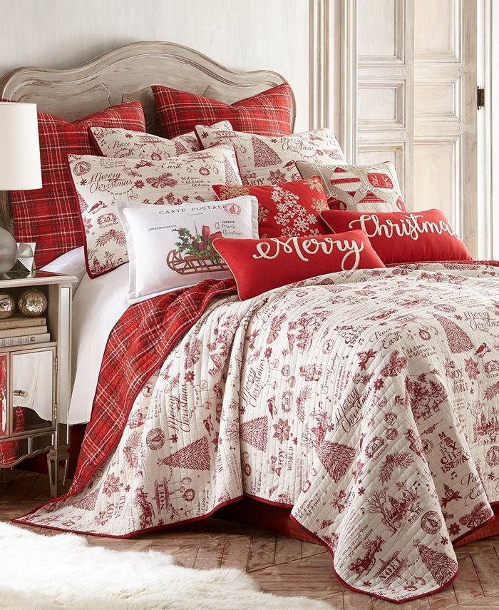 Levtex Home Yuletide Twin Quilt Set Reviews Quilts Bedspreads Bed Bath Macy S