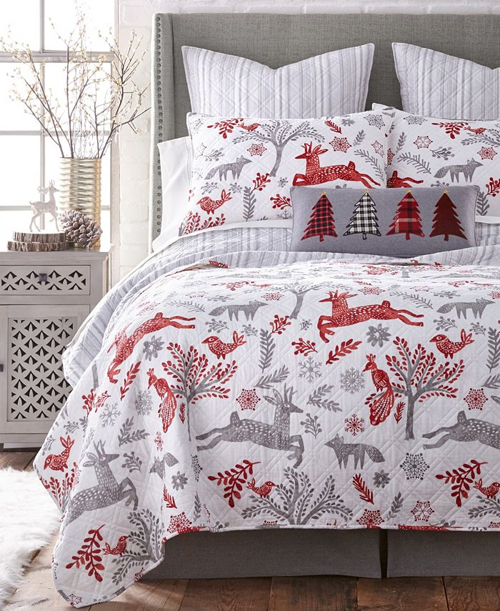 Levtex Home Winterland Twin Quilt Set Reviews Quilts Bedspreads Bed Bath Macy S