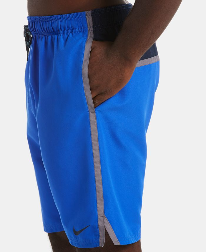 """Nike - Men's Diverge Perforated Colorblocked 9"""" Board Shorts"""