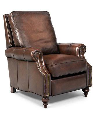 Madigan Leather Recliner Furniture Macy S