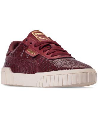 Puma Women's Cali Croc Casual Sneakers