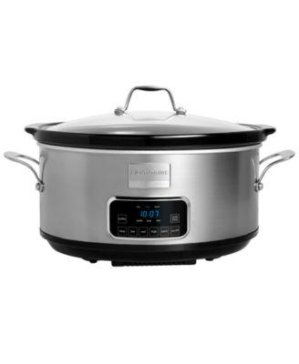 Frigidaire Professional FPCP07D7MS Slow Cooker, 7 Qt. Programmable