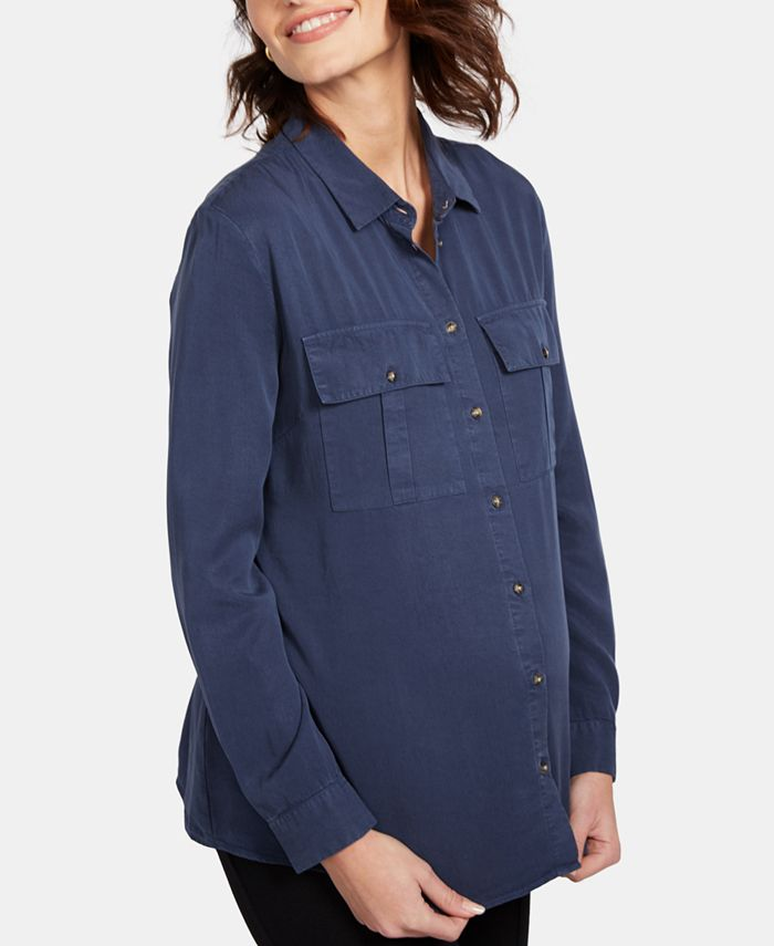 Isabella Oliver - Maternity Button-Front Shirt