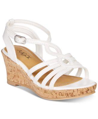little girls wedge sandals