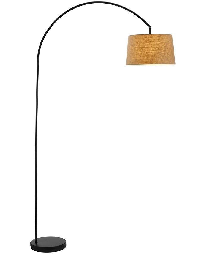 Adesso - Black Goliath Arc Floor Lamp