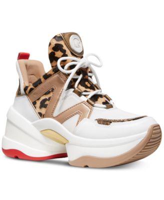 Michael Kors Olympia Trainer Sneakers