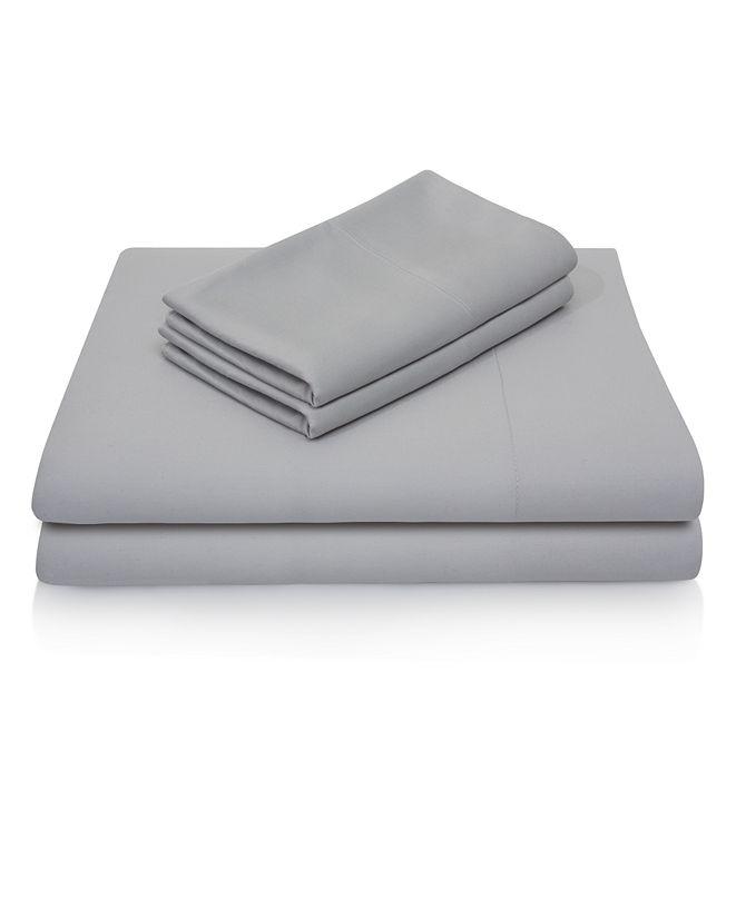 Malouf Woven Rayon from Bamboo Queen Pillowcase Set